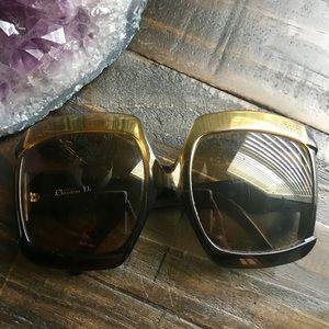 XL VTG Christian Dior Sunglasses